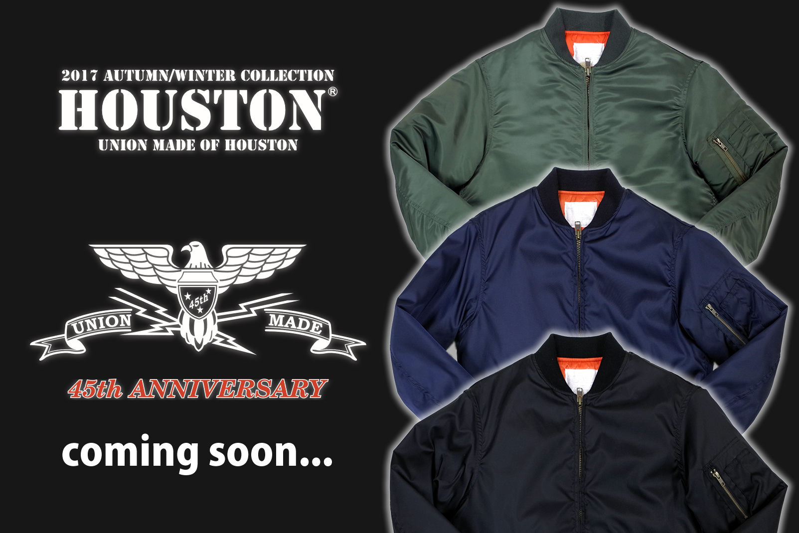 HOUSTON 45th Limited Collection